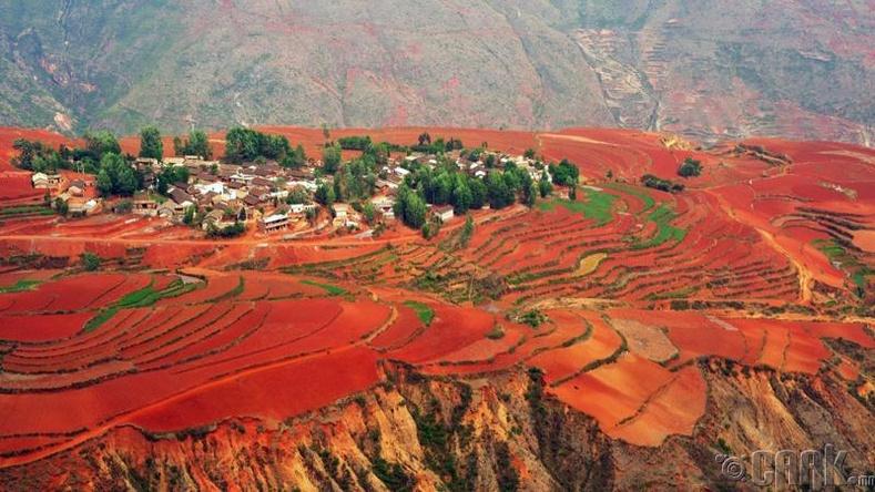 Доншуанийн улаан хөрс, Хятад