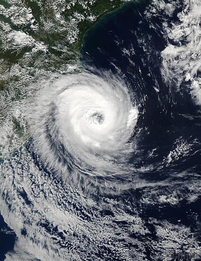 Өмнөд Атлантын далайд бүртгэгдсэн цорын ганц хар салхи: Катрина циклон