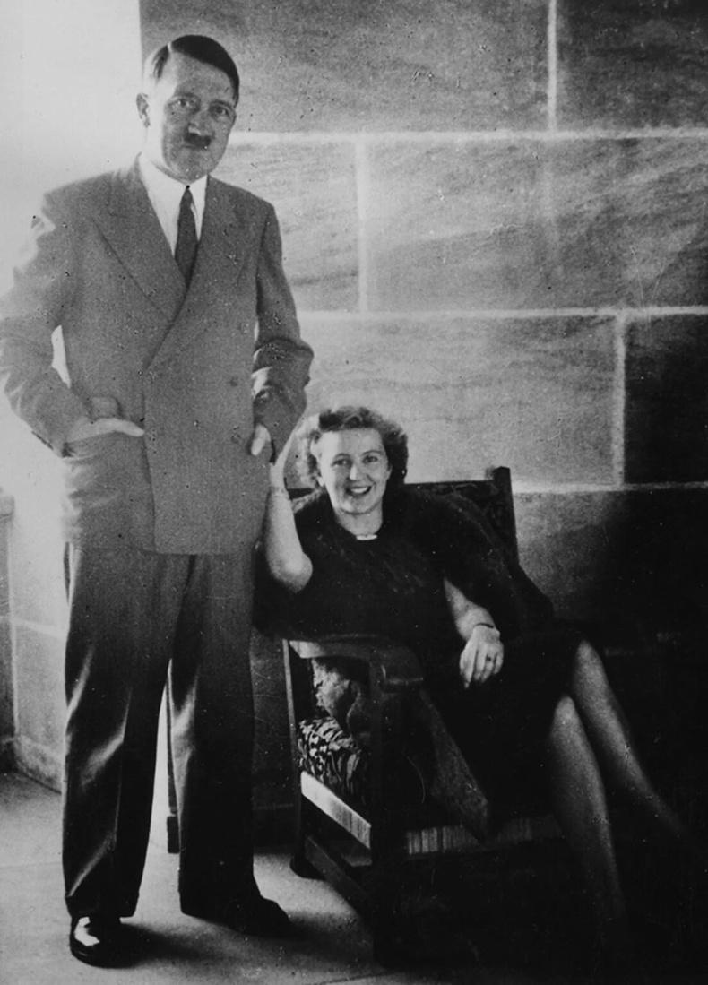 Адольф Гитлер болон Ева Браун