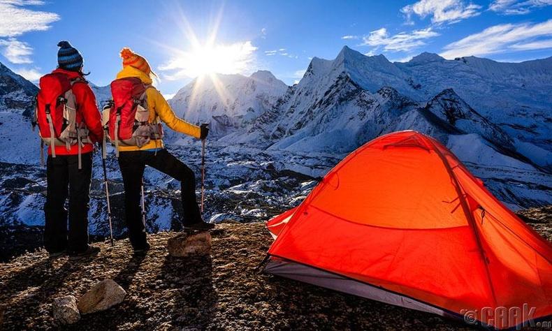 Гималайн ууланд авирах