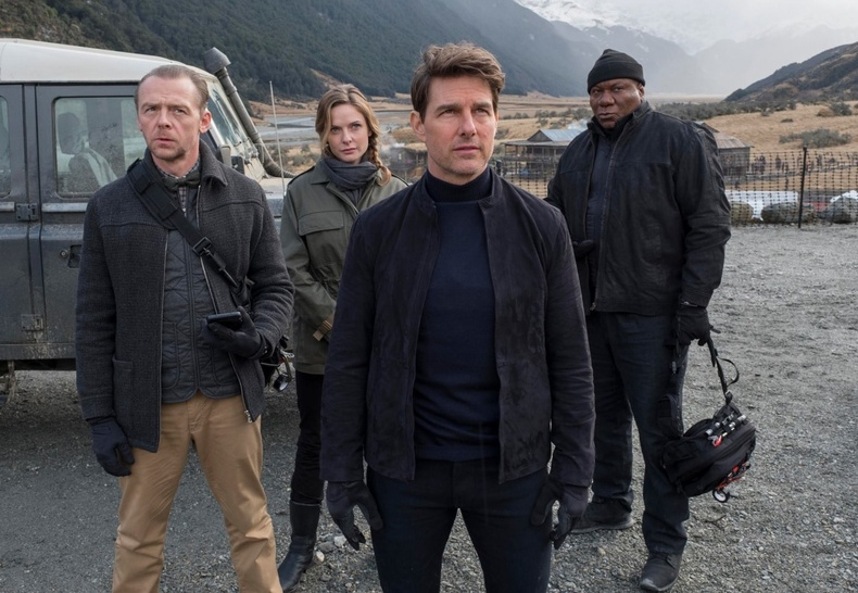 """""""Mission Impossible: Consequences"""" (2018) - 97%"""