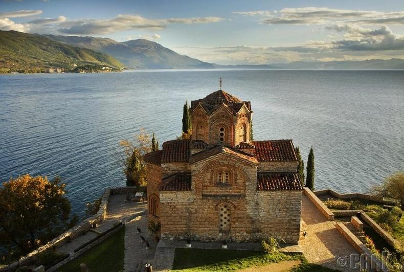 Охрид нуурын эрэг - Македон