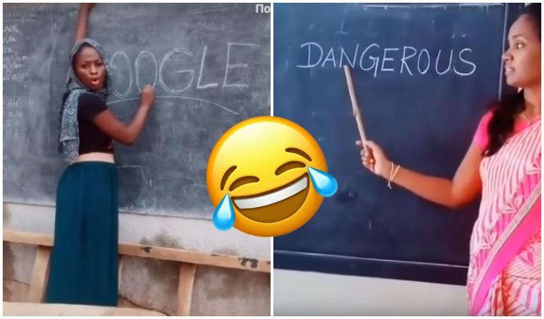 Африк, Энэтхэгт англи хэлийг ингэж заадаг (Хөгжилтэй бичлэгүүд)