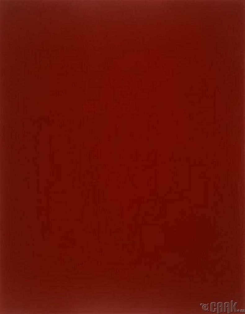 """Герхард Рихтер """"Цусан улаан толь""""- 1.1 сая доллар"""