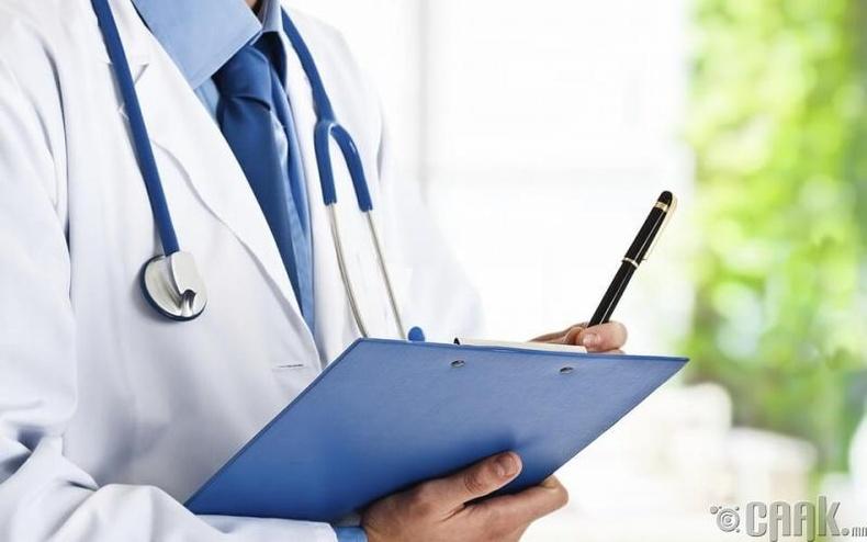 Эмчид үзүүлэх