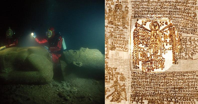 Египетийн пирамидын ойр орчмоос олдсон хачирхалтай зүйлс