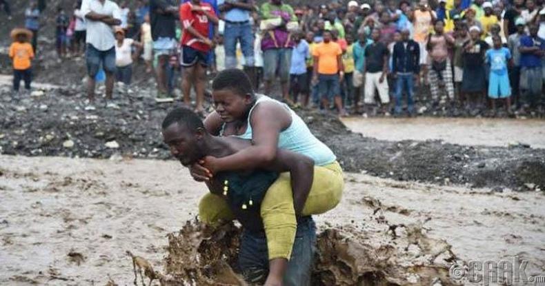 Гайтид ахин байгалийн гамшиг тохиолдов