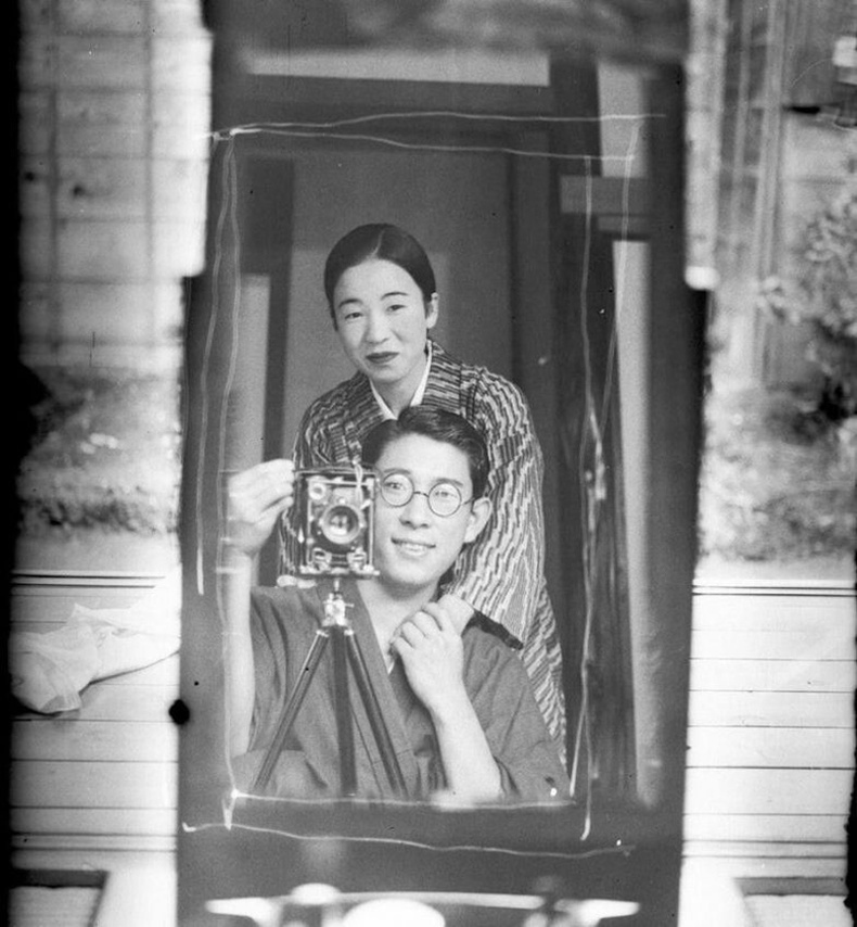 Сельфи, 1920 он, Япон.