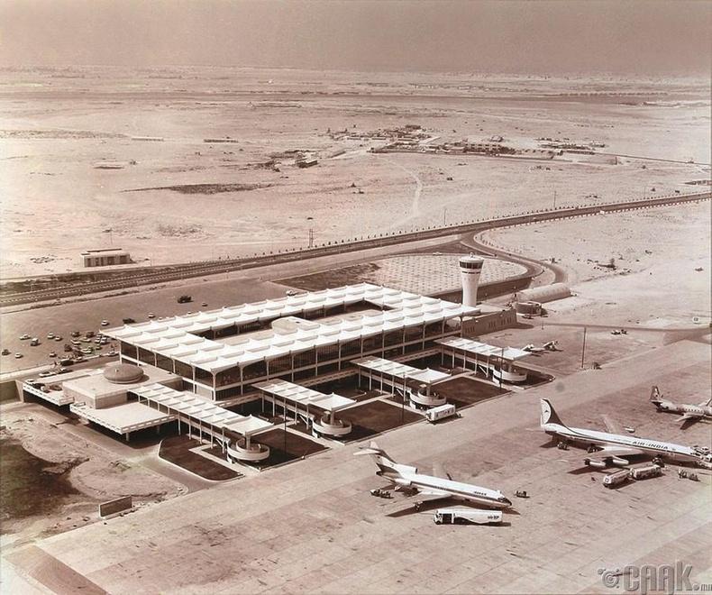 Дубайн нисэх буудал, 1971