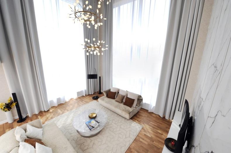 King Tower: Best seller буюу хамгийн эрэлттэй diamond ангилалын 6м өндөр цонхтой 4 өрөө апартментыг фото зургуудаар танилцуулж байна
