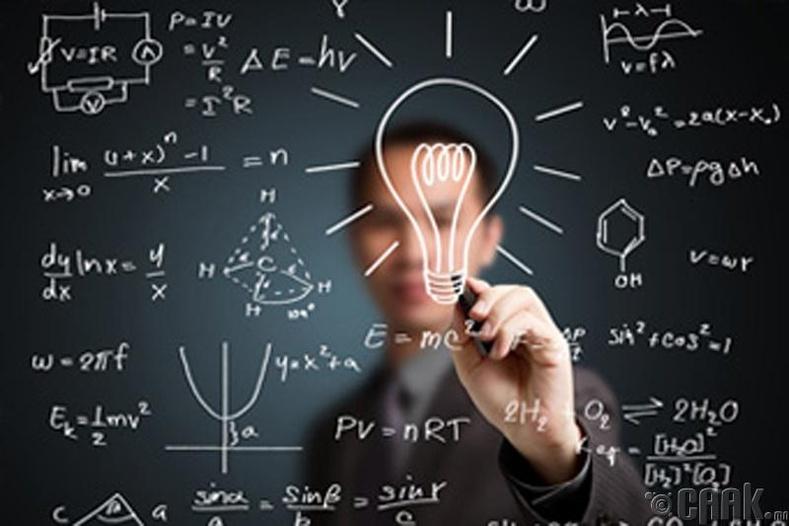Математик оюун ухааныг хөгжүүлдэг.