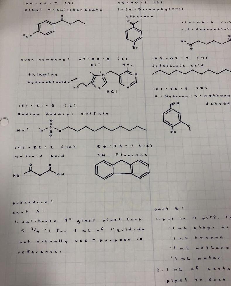 Органик химийн оюутны тэмдэглэл