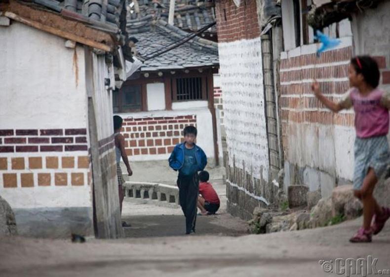 """Каесон """"Kaesong"""" дахь хуучин байшингууд 2011 он"""