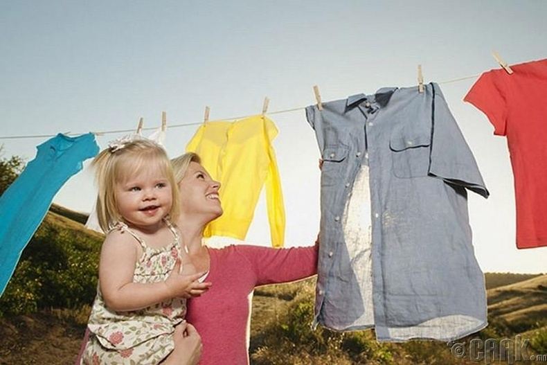 Нөхөртэйгөө гэрийн ажил болон  хүүхэд харах ажлаа тэнцүү хуваах хэрэггүй