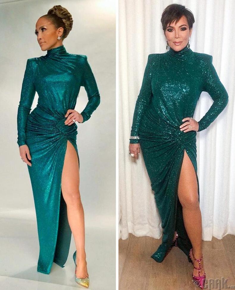 Женнифер Лопез, Крис Женнер (Jennifer Lopez, Kris Jenner)