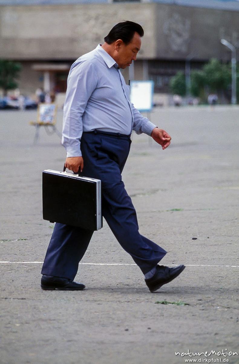 Цүнхтэй эр - Улаанбаатар