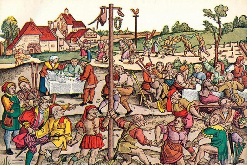 Бүжиглэдэг тахал (1518)