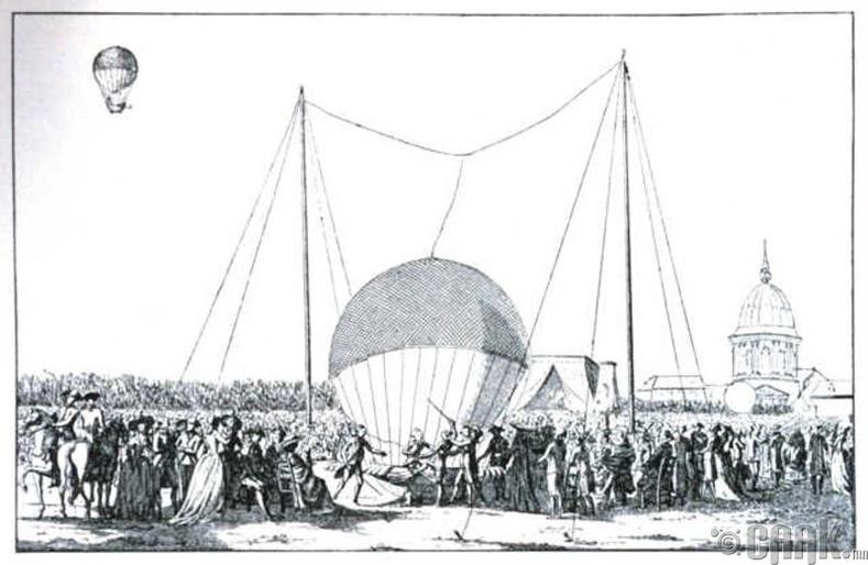 Жан Франсуа де Розье - Агаарын бөмбөлөг
