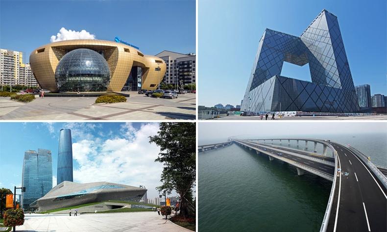 Дэлхийг гайхшруулсан Хятадын шинэ бүтээн байгуулалтууд