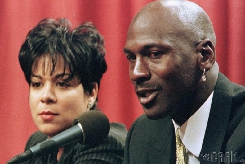 Майкл, Жуанита Жордан (Michael & Juanita Jordan) - 168 сая ам.доллар