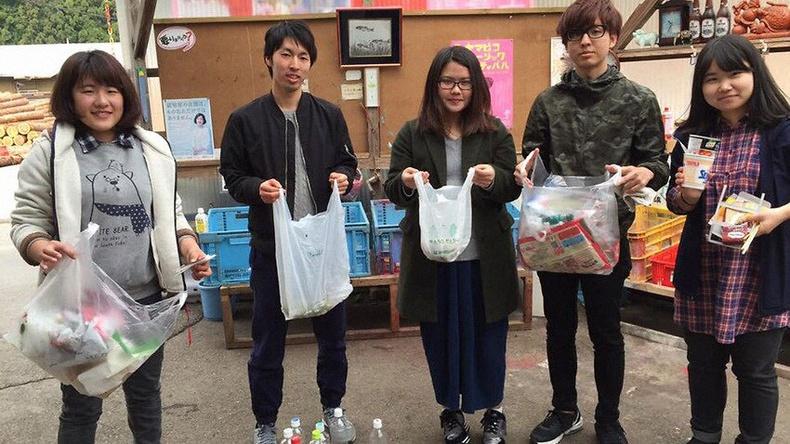 Япон дахь ямар ч хог хаягдал гаргадаггүй хот