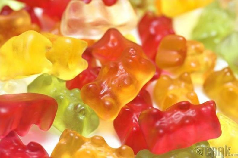 Шеллак - Резинэн чихэр