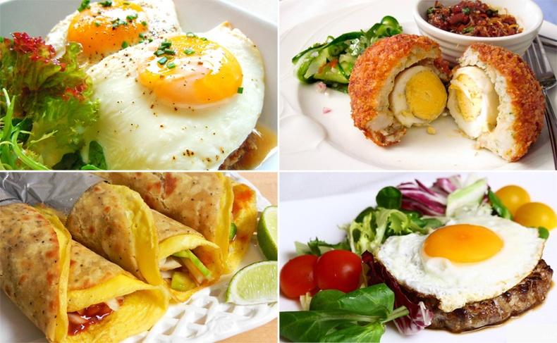 Өндгөөр хийж болох амтат 10 хоол