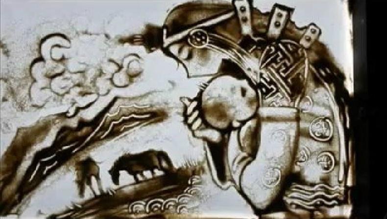 Монголчууд ч бас элсээр урлаж чадна