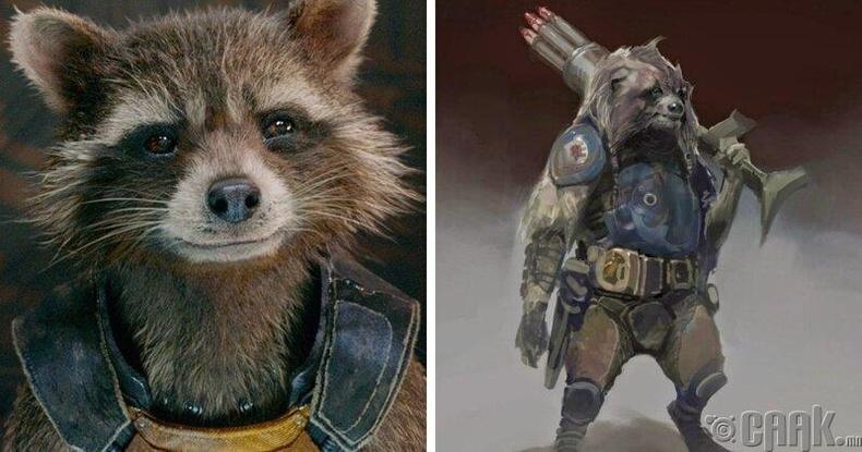Guardians of the Galaxy - Рокет /Rocket/