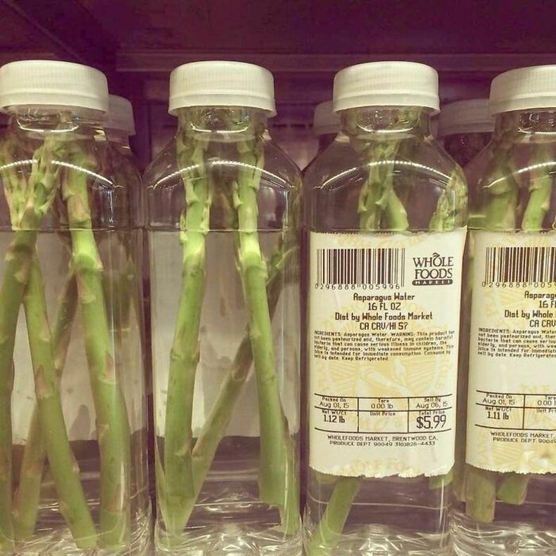 """Хэрэглэгчдэд илүү """"натурал"""" сэтгэгдэл төрүүлэх арга - Усан доторх аспарагус"""
