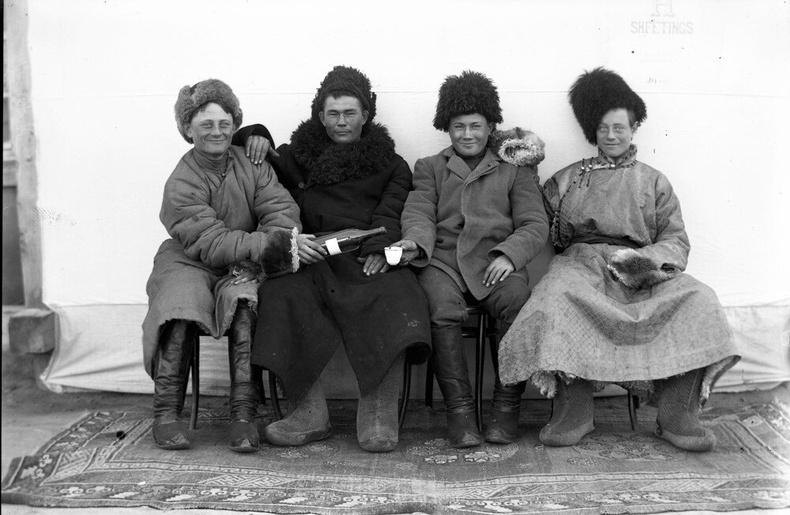 Оросын цагаантны цэргүүд Монголд