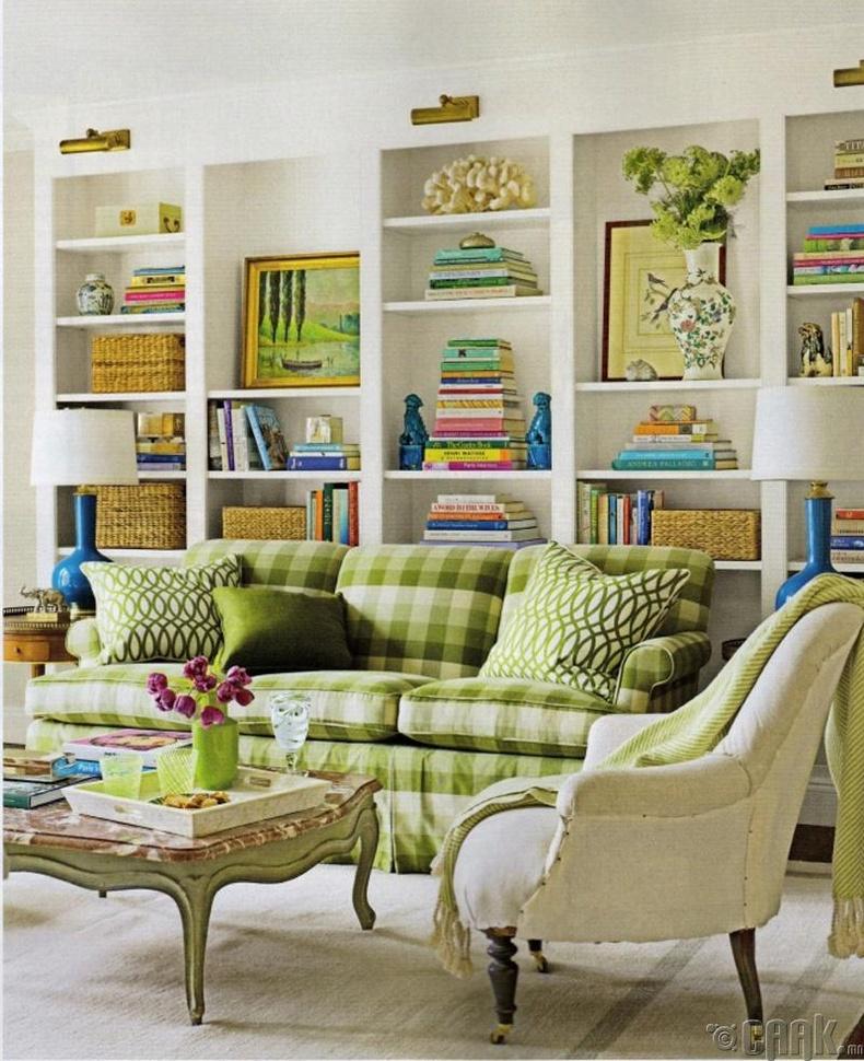 Номын тавиур нь гэрт үзэмж нэмдэг