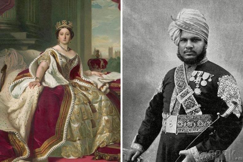 Хатан хаан Виктория болон Абдул Карим
