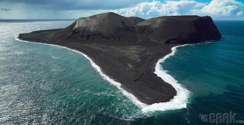 Сөртсей (Surtsey) арал  - Эрэл, хайгуулын ажил хийгдэж байгаа