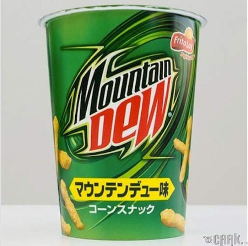 """""""Mountain Dew""""-ийн амттай """"Cheetos"""""""