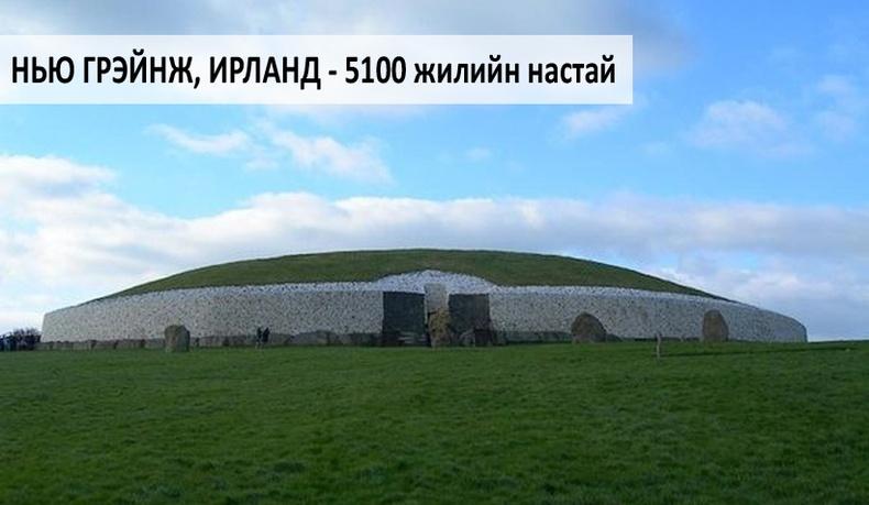 Дэлхийн хамгийн эртний барилгууд
