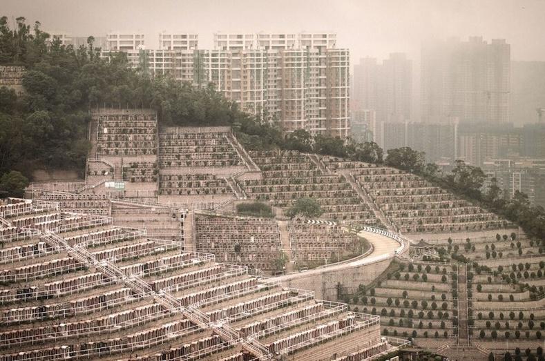 Хонконгийн босоо оршуулгын газар