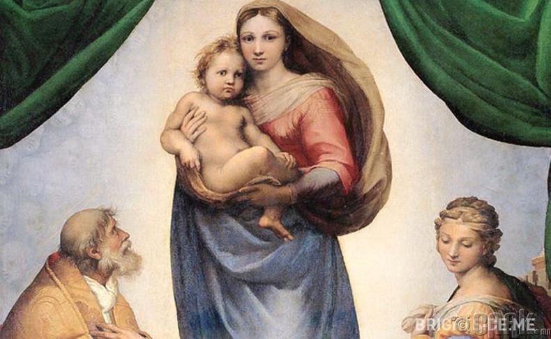 """""""The Sistine Madonna"""""""