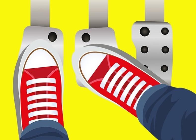 Хөлийн үзүүр болон өсгий гэсэн аргыг хэрэглэх