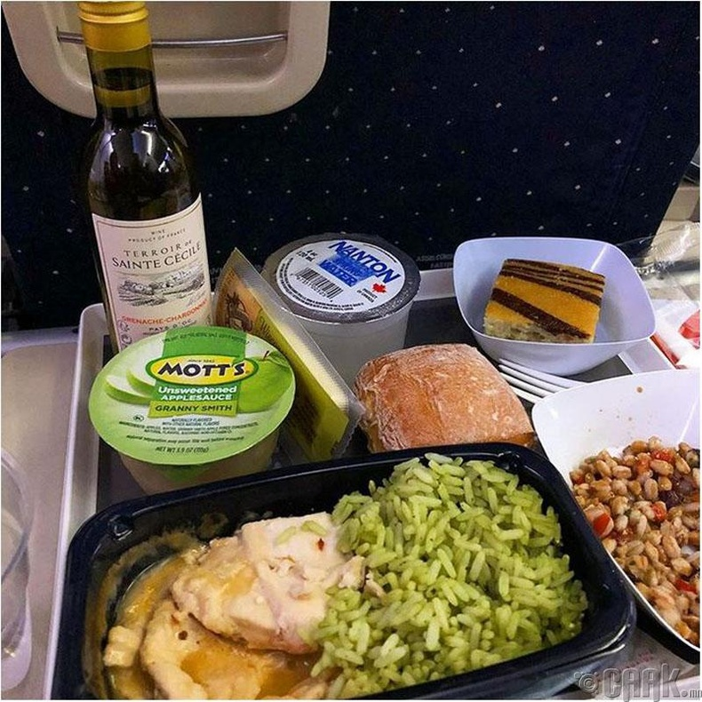 """""""Air France""""- Иж бүрдэл хоолонд нь """"Шардоннэ"""" цагаан дарс, бяслаг заавал багтдаг"""