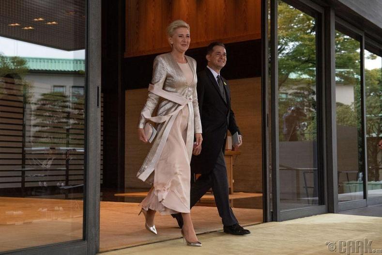Польшийн Ерөнхийлөгч Анджей Дуда, тэргүүн хатагтай Агата Корнхаусер-Дуда