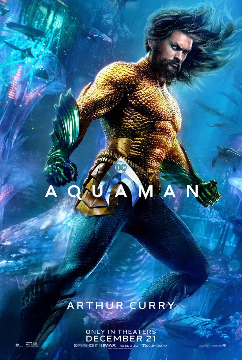 """""""Aquaman"""" - IMDb оноо: 7.6"""