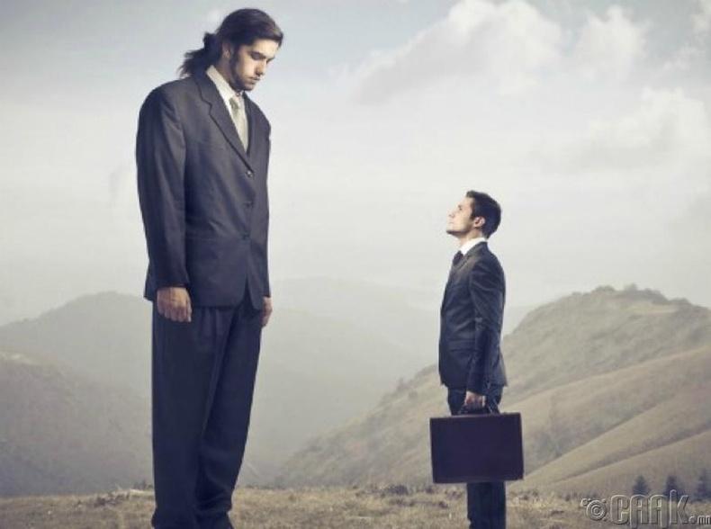 Бусадтай харьцуулж өөрийгөө дутуу үнэлэх