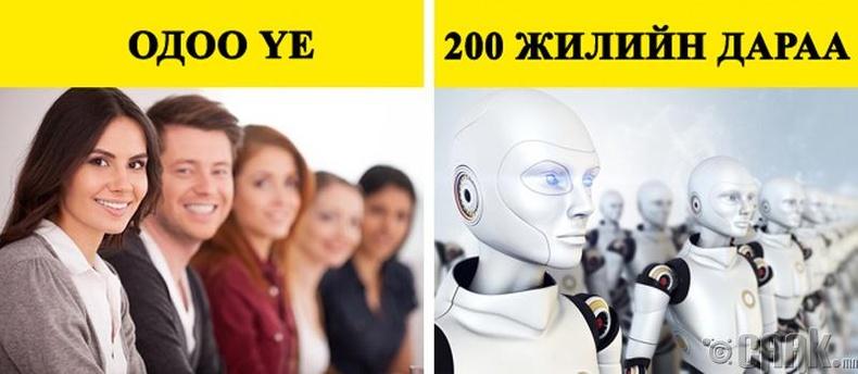 Роботууд хүнийг орлоно