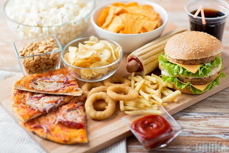 Эрүүл мэндэд хортой хоол