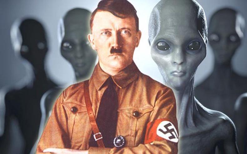 Гитлер харийнхантай холбоотой байсан уу?
