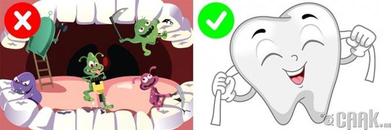 Шүдний завсар хоорондыг цэвэрлэх