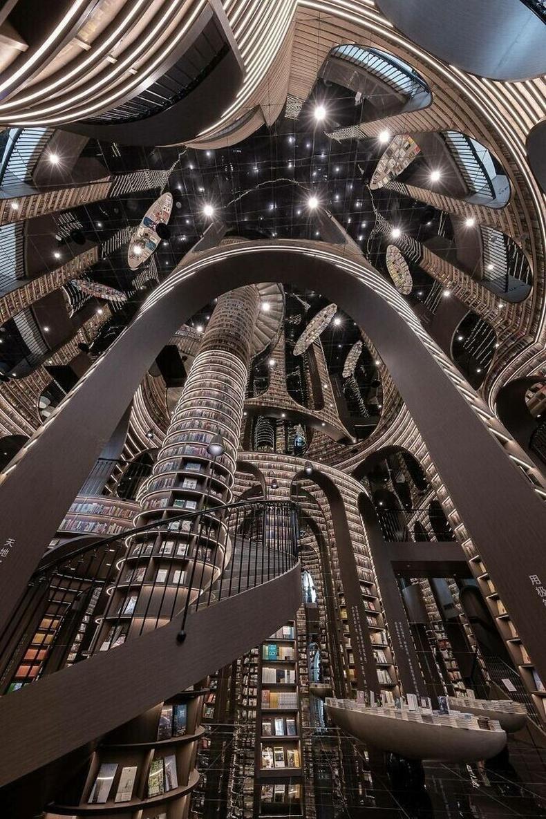 БНХАУ-ын Ченду хотын Zhongshuge номын дэлгүүр