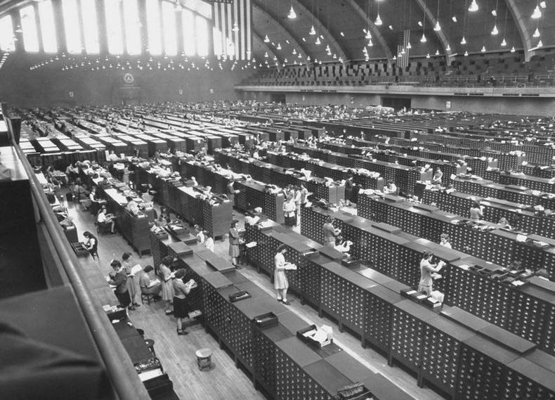 АНУ-ын Холбооны мөрдөх товчооны цуглуулсан хурууны хээний архив