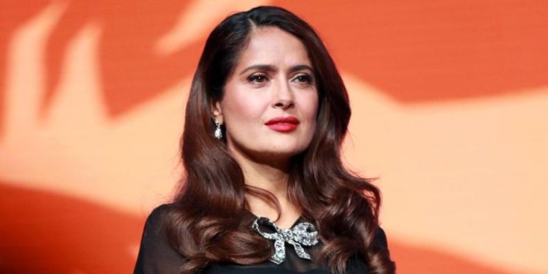 Салма Хайек (Salma Hayek) - 54 настай